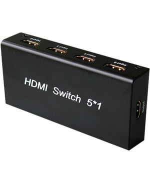 4xem 5 PORT HDMI SWITCH WITH REMOTE CONTROL 1080P 3D HD