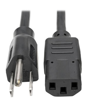 Tripp Lite 2FT COMPUTER POWER CORD 18AWG 13A 125V 5-15P TO C13