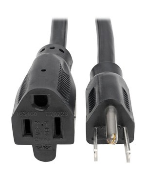 Tripp Lite 10FT POWER EXTENSION CORD 14AWG 15A 5-15P TO 5-15R HEAVY DUTY