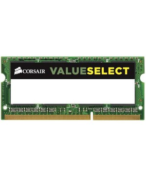 Corsair Value Select 4GB 1333MHZ DDR3 1X204 SODIMM 1.35V UNBUFFERED