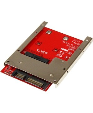 Startech.Com MSATA SSD TO 2.5IN SATA ADAPTER CONVERTER WITH OPEN FRAME