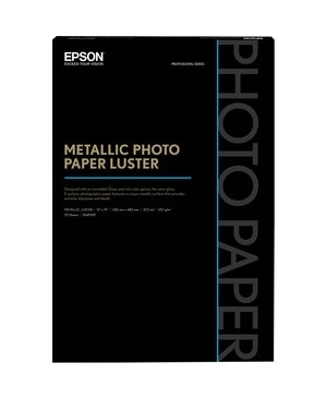 Epson - Open Printers And Ink METALLIC PHOTO PAPER - LUSTER 13 X 19