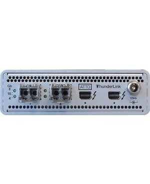 Atto Technology THUNDERBOLT 2 TO 16GB FIBRE CHANNEL WITH 2XSFP+ MODULES  DT