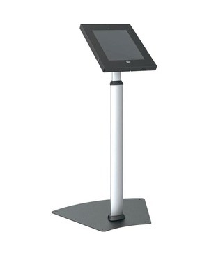 Pyle - Pro Sound TAMPER-PROOF ANTI-THEFT IPAD KIOSK SECURITY PUBLIC FLOOR STAND