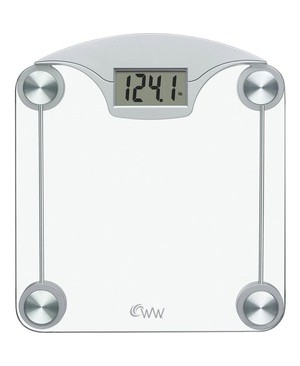 Conair-Personal Care WW DIGITAL GLASS SCALE WITH STAINLESS STEEL ACCENTS