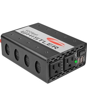 Whistler Group POWER INVERTER 400W 2OUT USB PORT PLUGS INTO 12V