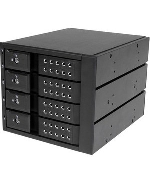 Startech.Com 4BAY 3.5IN SATA/SAS HDD TRAYLESS MOBILE RACK BACKPLANE