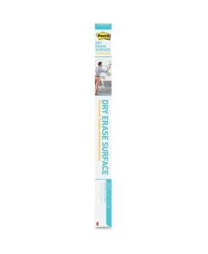 3M - Workspace Solutions POST IT 6X4 DRY ERASE SURFACE 6FT X 4FT WHITEBOARD SURFACE