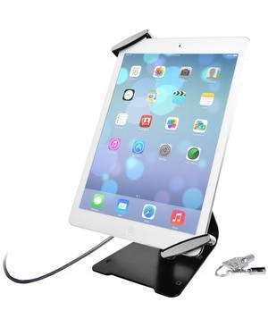 Cta Digital Inc. UNIVERSAL ANTI-THEFT SECURITY GRIP HOLDER WITH STAND FOR TABLETS