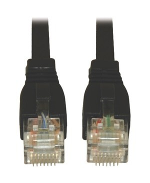 Tripp Lite 14FT CAT6 CAT6A PATCH CABLE 10G AUGMENTED SNAGLESS RJ45 M/M BLACK