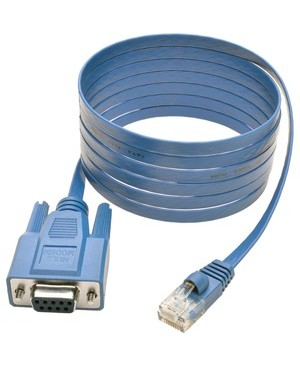 Tripp Lite 6FT CISCO ROLLOVER CABLE SERIAL CONSOLE RJ45 TO DB9F