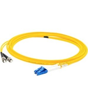 Addon 4M SINGLE-MODE FIBER SMF 9/125 DUPLEX ST/LC OS1 YELLOW PATCH CABLE