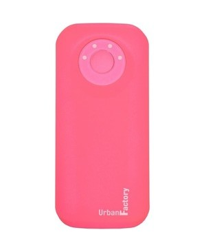 Urban Factory EMERGENCY BATTERY 4400MAH PINK OUTPUT 1 5A MICRO USB CABLE