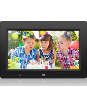 Aluratek Inc 10IN DIGITAL PHOTO FRAME WITH MOTION SENSOR AND 4GB MEMORY