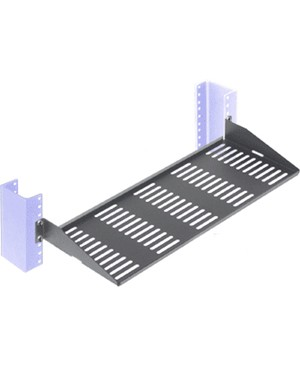 Innovation First / Rack Solutions 2POST RELAY RACK SHELF 7IN VENTED FLANGES UP FIXED