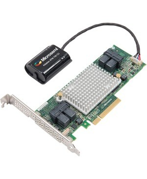 Microsemi Solutions Sdn Bhd ADAPTEC RAID CONTROLLER CARD 81605Z V2 SINGLE CABLE NOT INCLUDED