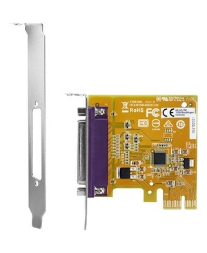 HP PCIe x1 Parallel Port Card - Plug-in Card - PCI Express 2.0 x1 - Linux, PC - 1 x Number of Parallel Ports Internal