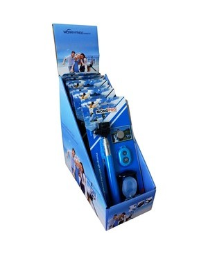 Worryfree Gadgets 10 SET WITH DISPLAY BOX SELFIE SET BLUE