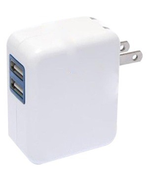 4xem 2PORT 2.1A WALL CHARGER FOR APPLE IPHONE IPAD IPOD SAMSUNG