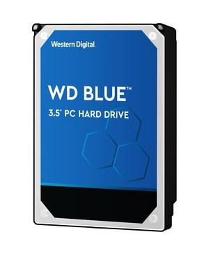 Western Digital-Desktop Single 1TB  BLUE SATA 5400 RPM 64MB 6GB/S 3.5IN PC HARD DRIVE