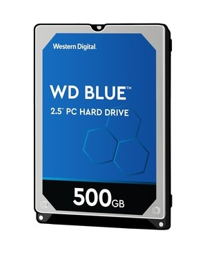 Western Digital-Mobile Single 500GB BLUE SATA 6GB/S 5400 RPM 16MB 2.5IN