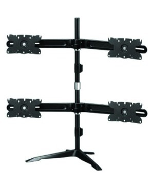 Amer Networks HEAVY DUTY FOUR/4 MONITOR STANDSTND