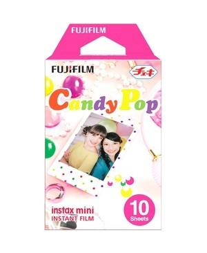 Fujifilm - Film INSTAX MINI CANDYPOP FILM PACK OF 10 SHEETS