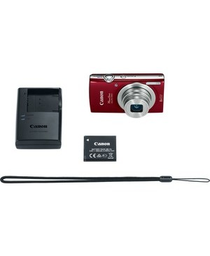 Canon-Photo Video ELPH 180 RED 2.7IN TFT LCD
