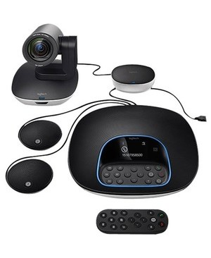 Logitech Vc GROUP CONFERENCE SYSTEM BUNDLE WITH SYSTEM & EXTRA MICS