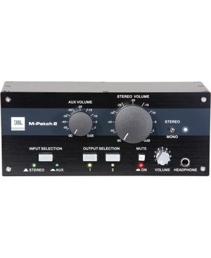 """JBL Passive Stereo Controller and Switch Box - 4.7"""" Width x 3.4"""" Depth x 8.7"""" Height S/M MPATCH2 4 PER MASTERPACK"""