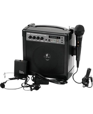Pyle - Pro Sound PORTABLE KARAOKE PA AMP-MIC SYS BT WL STREAMING 3 MICS INCLUDED