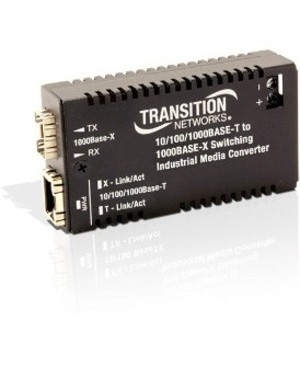 Transition Networks 10/100/1000 BASETX TO 1000 BASE FX INDUSTRIAL MC