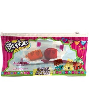 Brush Buddies BRUSH BUDDIES SHOPKINS TRAVEL KIT