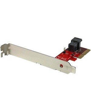 Startech.Com X4 PCIE TO SFF-8643 ADAPTER FOR PCI EXPRESS 2.5IN NVME U.2 SSD