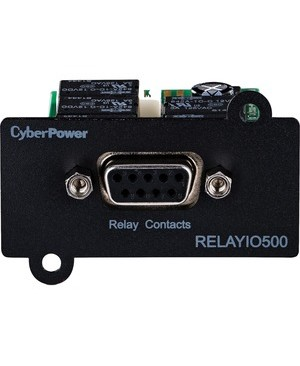 Cyberpower Systems Usa UPS RELAY IO MANAGEMENT CARD DB9 5-OUT 1-IN CONTACTS 3YR WARR