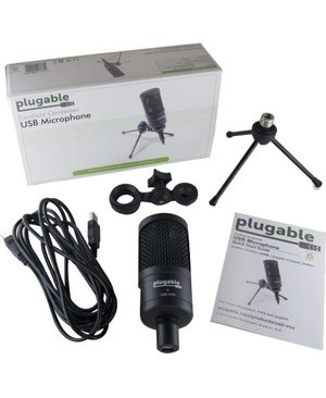 Plugable Technologies PLUGABLE USB MICROPHONE CONDENSER CARDIOID WITH DESK STAND