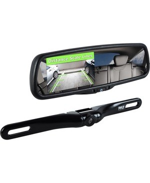 Pyle-Car Audio/Video REARVIEW BACKUP PARKING ASSIST CAM & DISPLAY MNTR SYST 4.3IN