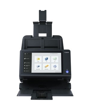 Canon Usa - Scanners SCANFRONT 400 ENET NTWK 600DPI 45PPM/90IPM 60PG ADF/TOUCH LCD LGL