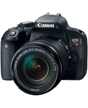 Canon-Photo Video EOS REBEL T7I EF-S 18-135 IS STM KIT 3IN LCD VARI ANGLE