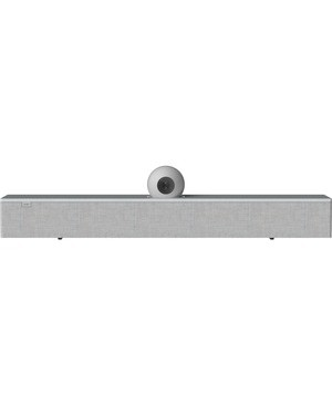 AMX Acendo Vibe ACV-5100GR Bluetooth Sound Bar Speaker - Gray - Wall Mountable - Tabletop - USB - HDMI CONFERENCING SOUND BAR WITH CAMERA