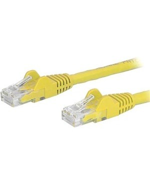 Startech.Com 8FT CAT6 YELLOW SNAGLESS ETHERNET CABLE UTP