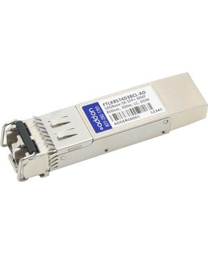 Addon FINISAR SFP+ 300M FTLX8574D3BCL COMPAT TAA XCVR 10-GIG SR DOM LC