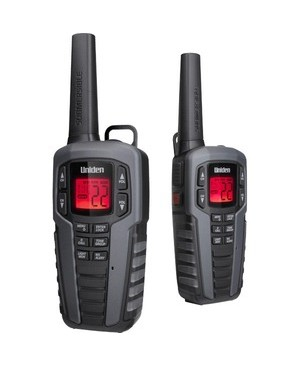 Uniden 2-Way Radio GMRS/FRS RADIO 142 PRIVACY CODE WEATHER ALERT/CHARGE CRADLE 37MILE