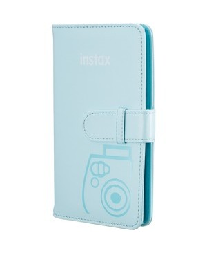 Fujifilm - Film WALLET ALBUM ICE BLUE FOR INSTAX MINI 9
