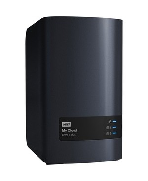 Western Digital - Content Solutions MY CLOUD EXPERT SERIES EX2 ULTRA NAS 20TB GBE