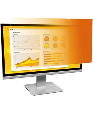 3M - Optical Systems Division GOLD PRIVACY FILTER 23.8IN WS 16:9 UNFRAMED FOR DISPLAYS