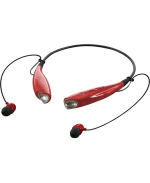 Dpi Inc/Gpx-Personal & Portable ILIVE BT WIRELESS EARBUDS RED NECKBAND CONTROLS WIRELESS 33FT