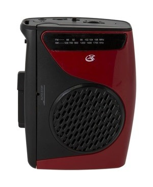 Dpi CASSETTE PLAYER AM/FM RADIO W/ BUILT-IN SPEAKERS/MIC