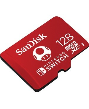 Wdt - Retail Mobile 128GB MICROSDXC UHS-I CARD FOR NINTENDO SWITCH