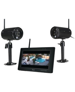 Alc Wireless 7IN MONITOR SURV SYS 2CAM 1080P 24/7 LIVE VIEW ON MONITOR